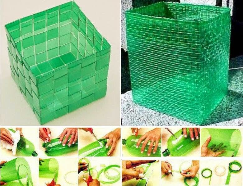 Botes de plástico para diferentes artículos para el hogar