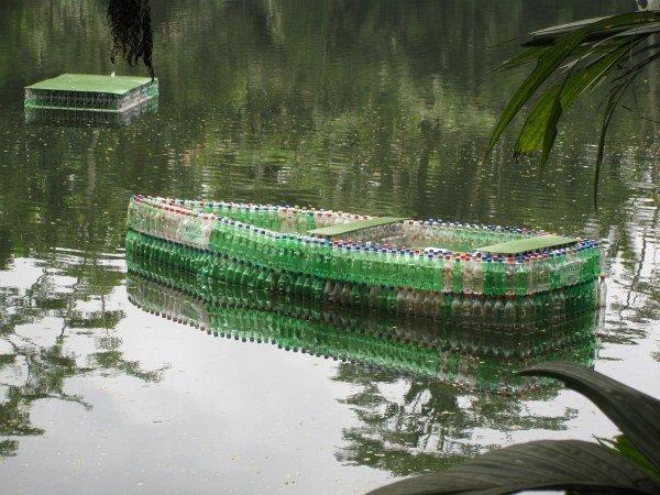 balsa de botella ed plástico