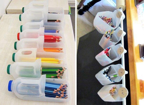 50 Objetos Utiles Y Creativos Hechos Con Botes De Plastico - Cosas-artesanales-para-hacer-en-casa