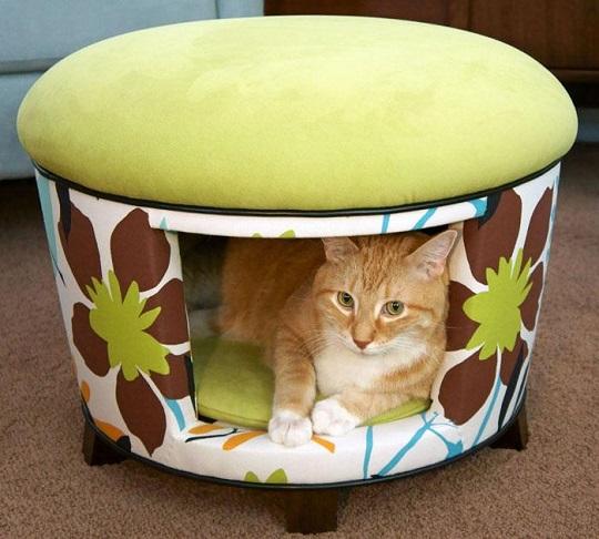 cama para mascotas puff