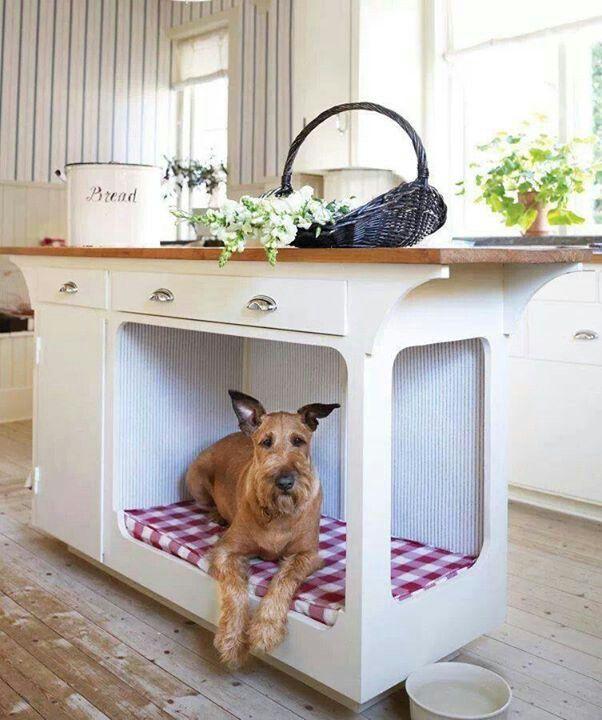 camas para mascotas gabinete