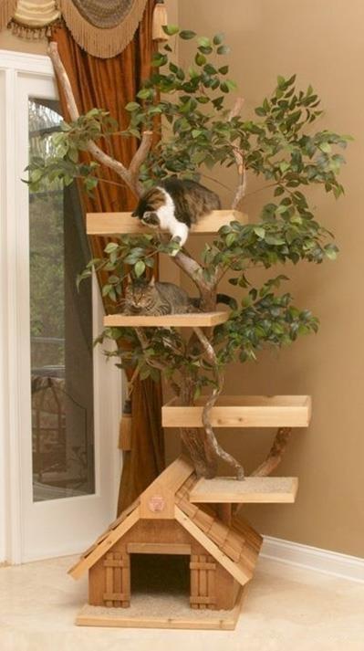 camas para mascotas casa del árbol