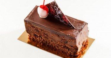 Brownie chocolate postre