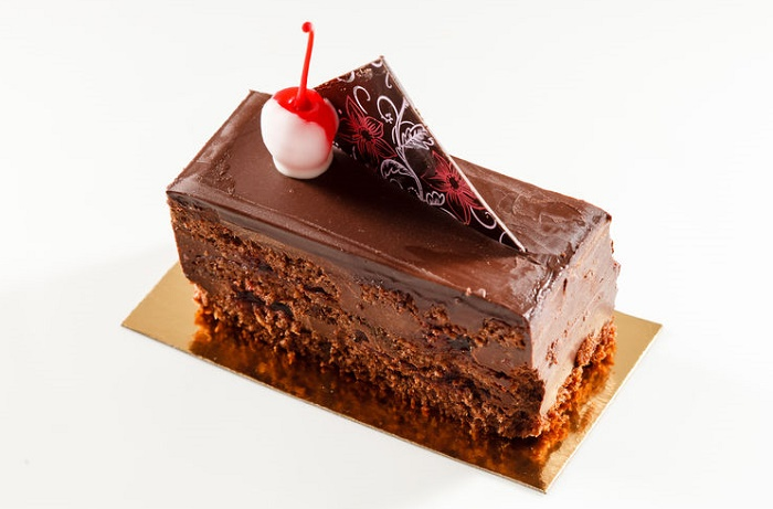Brownie chocolate postre