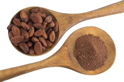 Cacao en polvo  servido