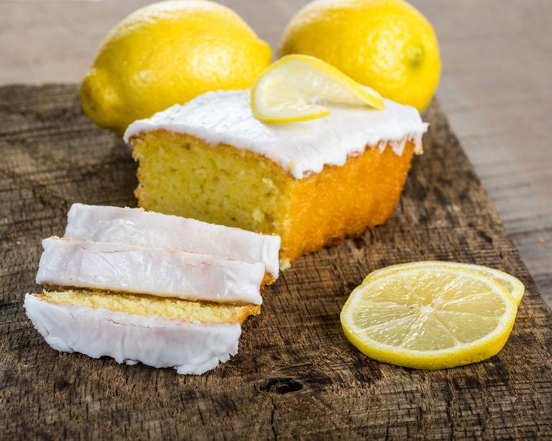 Delicioso pastel de limón