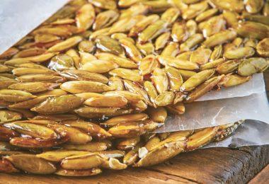 cómo hacer una palanqueta de semillas estilo mexicano
