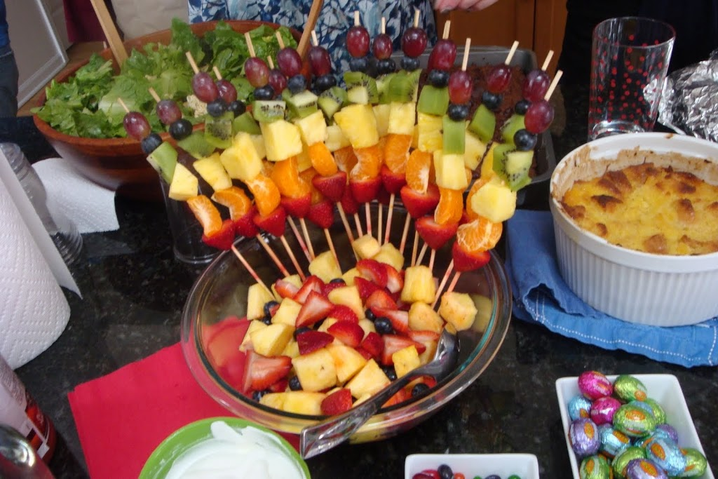 Presentación de frutas