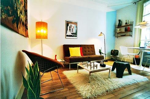 diseño de interiores con alfombras