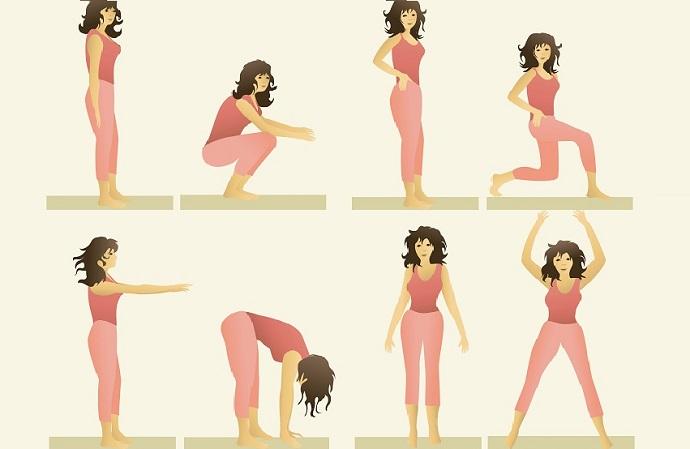 ejercicios para la flacidez en el cuerpo