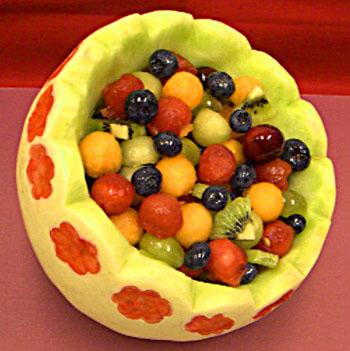 Frutas presentadas