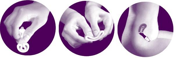 tampones y toallas sanitarias copa menstrual