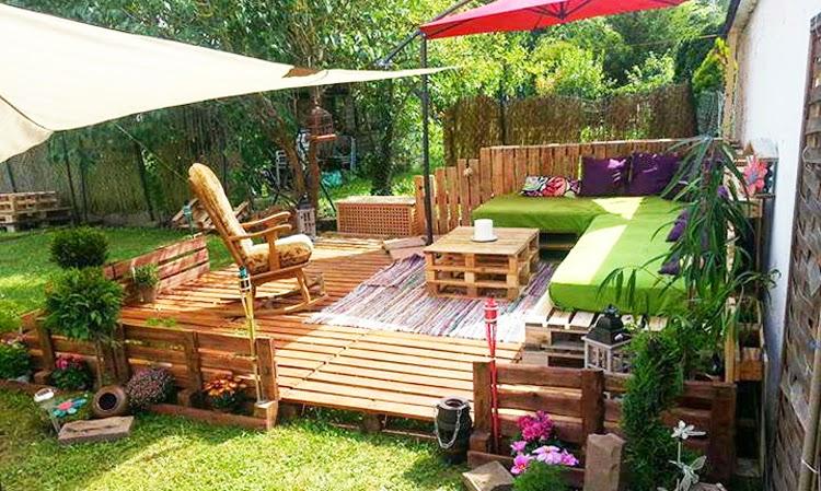 Soluciones tiles para decorar el jard n vida l cida - Decorar el jardin ...