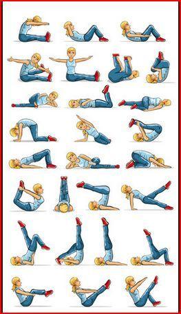 Principales ejercicios recomendados de pilates - Como hacer pilates en casa ...