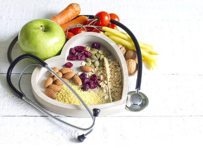 dieta saludable para enfermedades corazón y reducir la tensión arterial