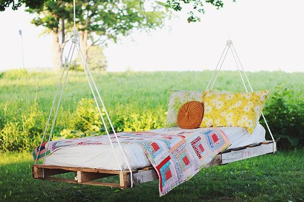 Cómo hacer tu cama o hamaca de pallet