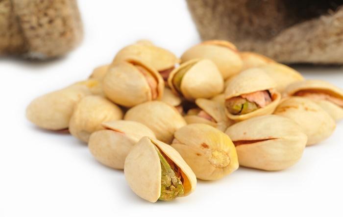 Los pistachos para luchar contra el estrés
