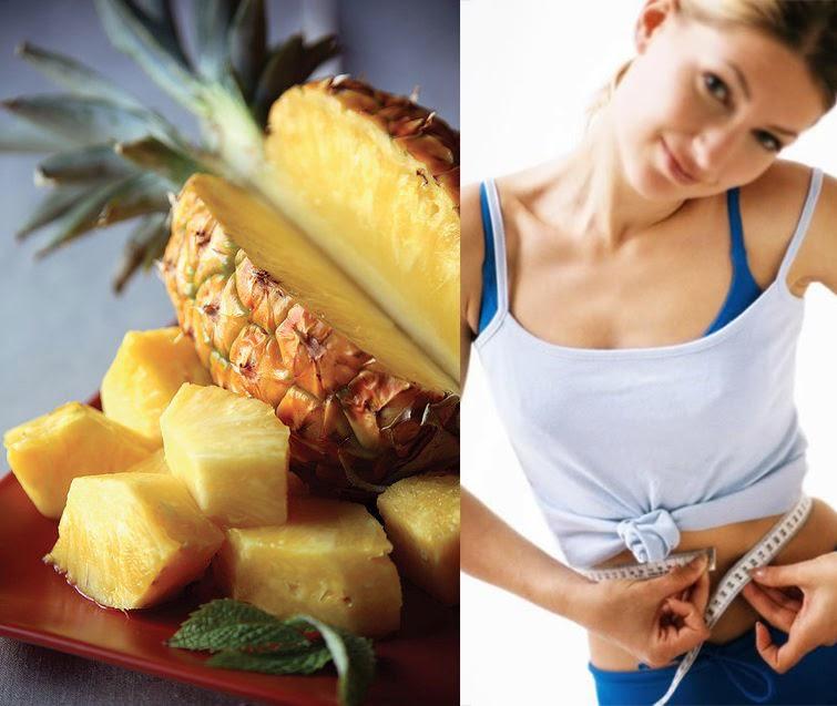Beneficios para adelgazar del ananá o la piña