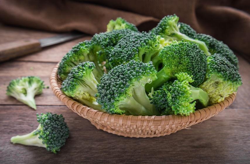 Brócoli alimentos naturales como laxantes