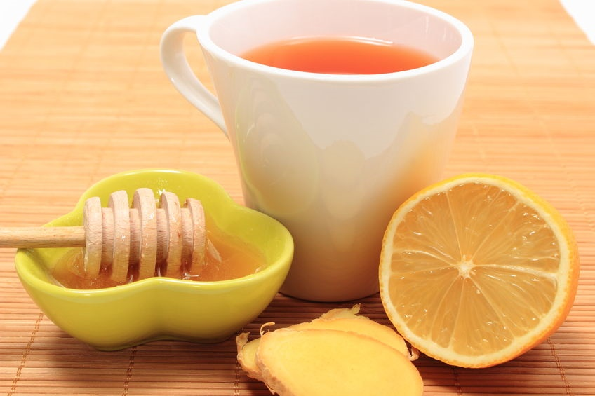 Miel de abejas, limón, jengibre