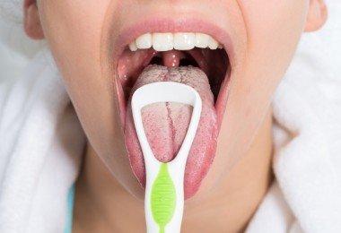 limpiar lengua