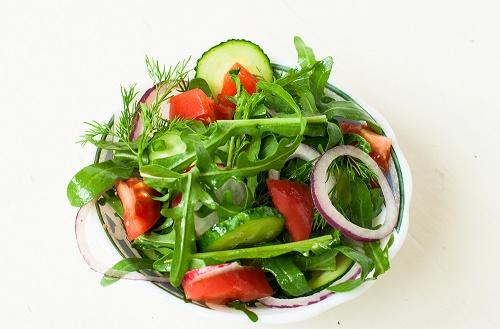 hormonas Ensalada de vegetales