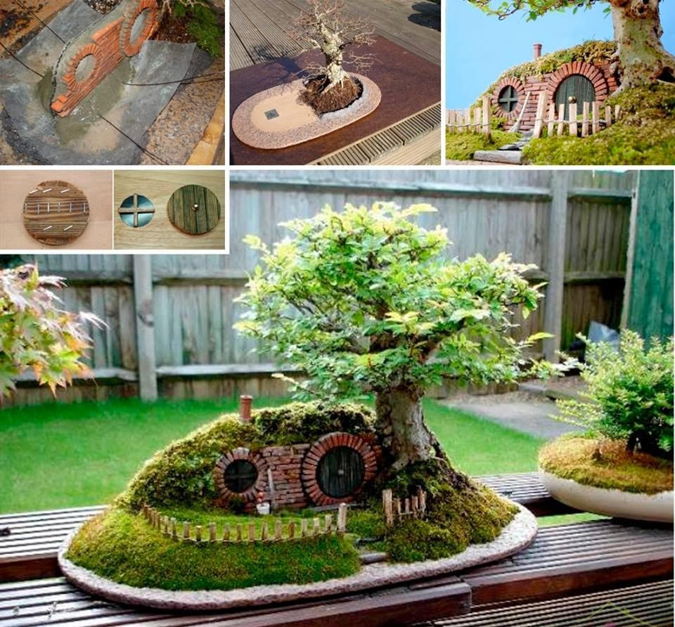 30 ideas creativas con plantas para decorar tu hogar y - Decoracion de jardines con piedras y plantas ...