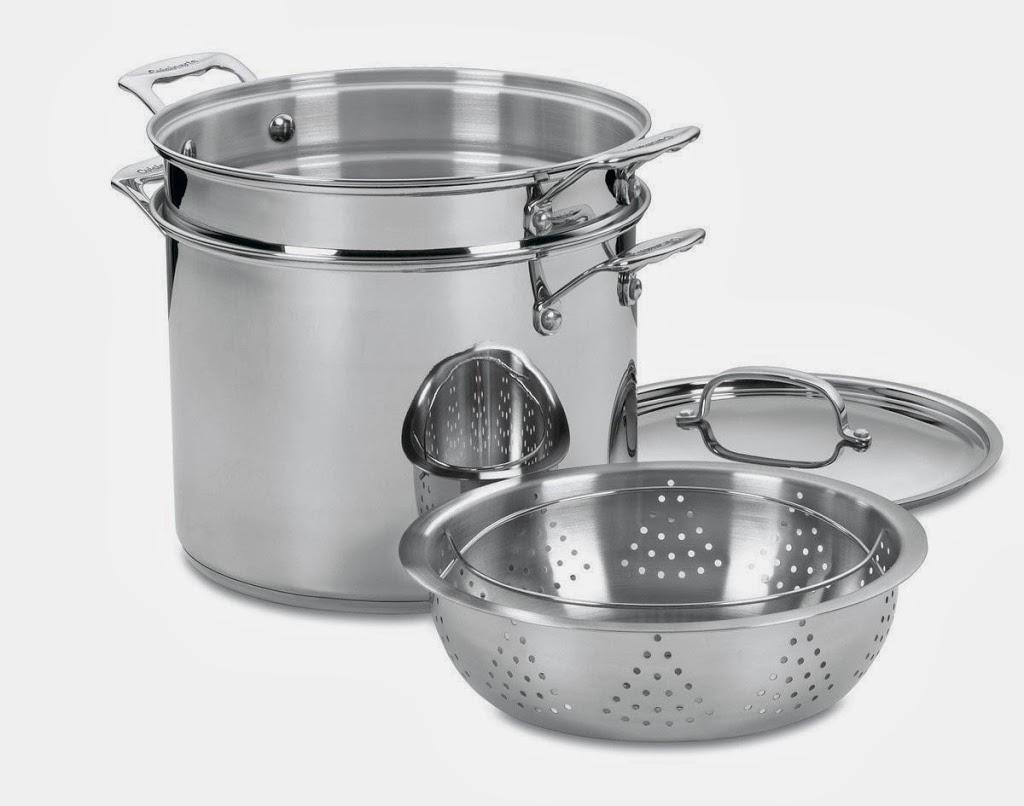 sarten de cocina de acero inoxidable