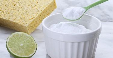 bicarbonato de sodio esponja limpiadores naturales