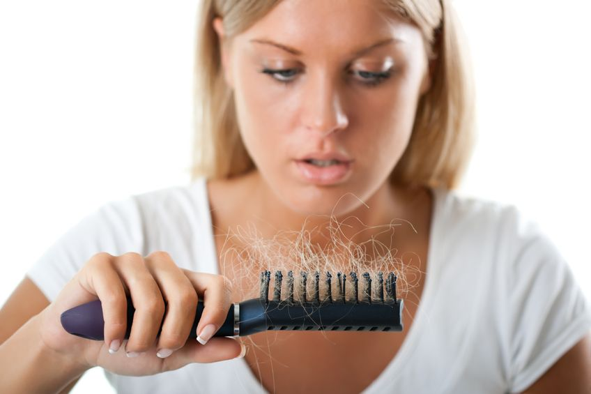 Caida del cabello por falta de proteínas