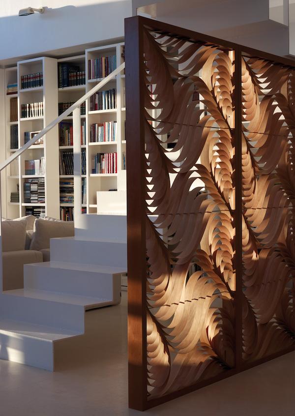 mamparas interior madera