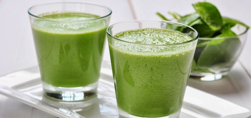 Jugo verde antiinflamatorio