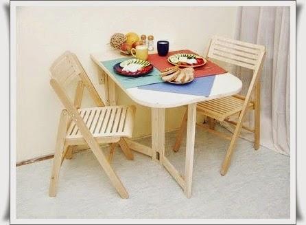 Construye una mesa plegable de madera - Como hacer una mesa de comedor ...