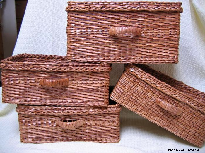 Basket Weaving O Que é : C?mo realizar una canasta tejida estilo mimbre