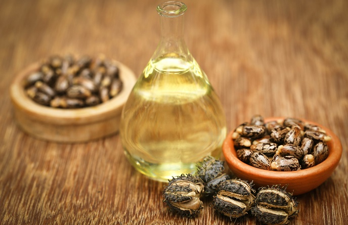 aceite de ricino para usar en el cabello