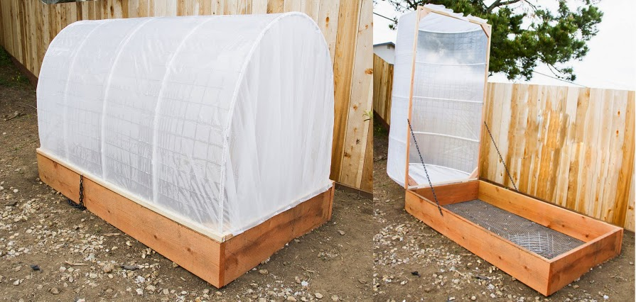 C mo hacer un invernadero paso a paso para el jard n - Invernadero para casa ...