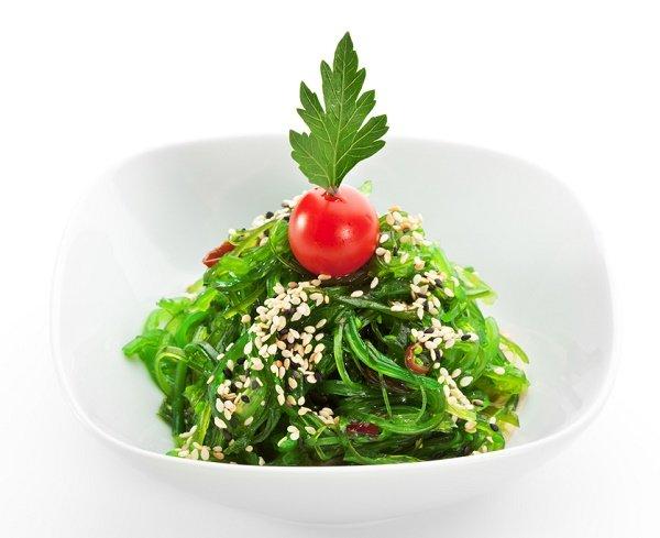 snacks para perder peso algas