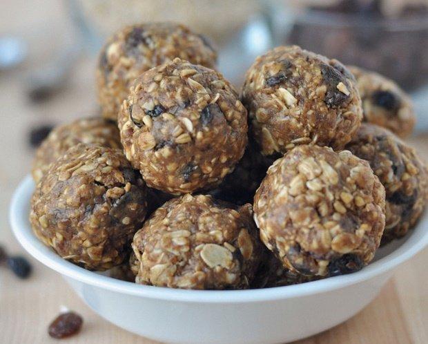 snacks para perder peso bolitas de avena