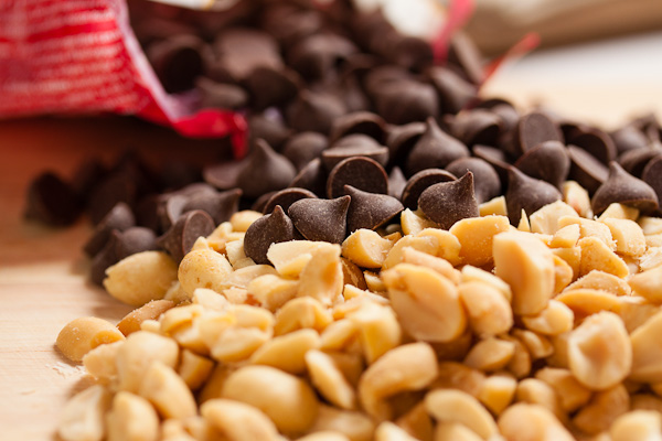 snacks para perder peso chocolate chips