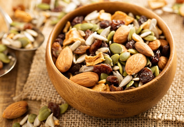snacks para perder peso frutos secos nueces