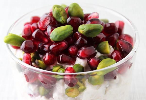 snacks para perder peso granada