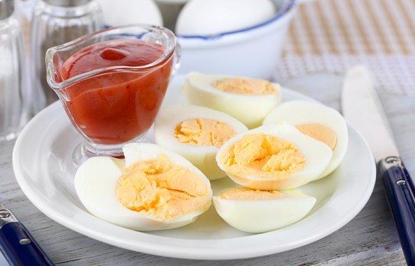 snacks para perder peso huevos duros