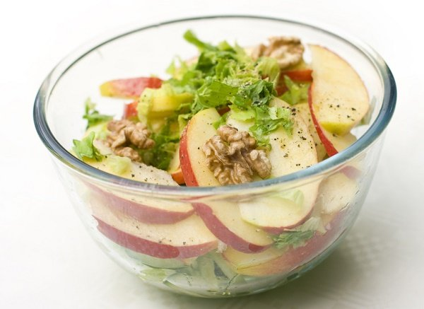 snacks para perder peso manzana