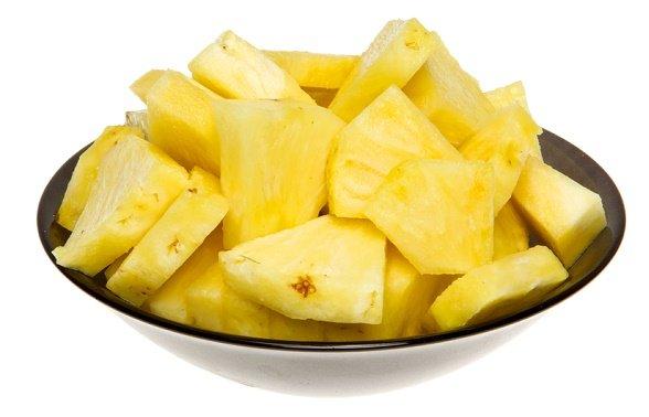 snacks para perder peso piña