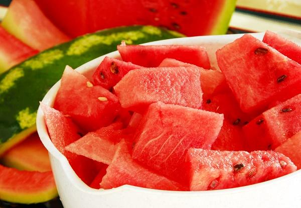 snacks para perder peso sandía vinagre