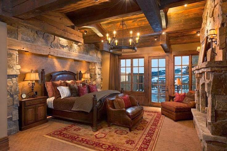 20 dise os r sticos de habitaciones para inspirarte for Disenos de chalets rusticos
