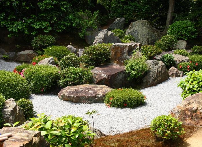 Ideas para dise ar un jard n con piedras for Jardines con rocas