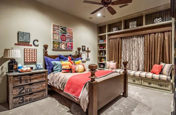 20 dise os r sticos de habitaciones para inspirarte - Habitaciones infantiles rusticas ...