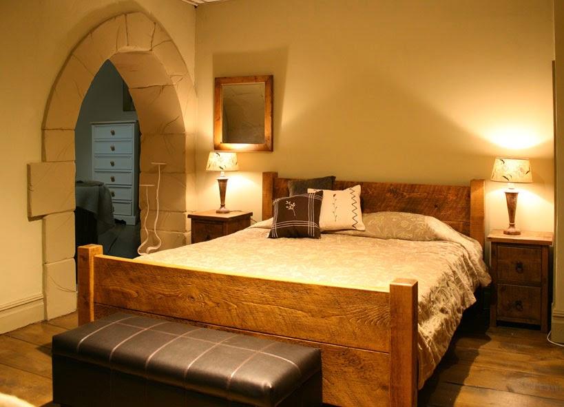 20 dise os r sticos de habitaciones para inspirarte - Como decorar una habitacion rustica ...