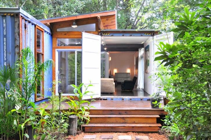 Una vivienda diferente con materiales reciclados